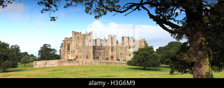 Raby Castle, Staindrop, Darlington, Durham County, England, Britain, UK - Stock Photo