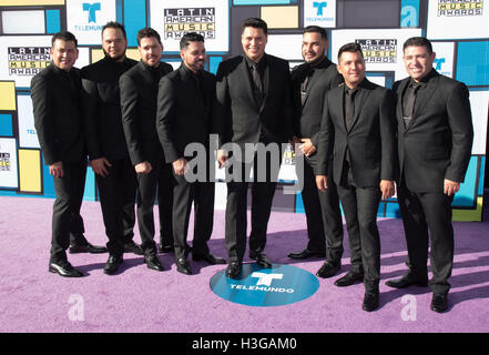 Hollywood, California, USA. 6th Oct, 2016. Banda MS attends the 2016 Latin American Music Awards at Dolby Theatre - Stock Photo