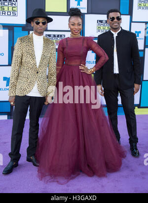 Hollywood, California, USA. 6th Oct, 2016. ChocQuibTown attends the 2016 Latin American Music Awards at Dolby Theatre - Stock Photo