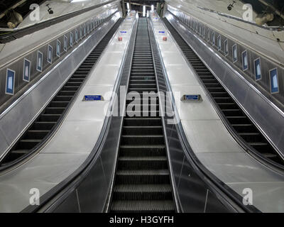 London Underground Tube Station, London, England, UK - Stock Photo