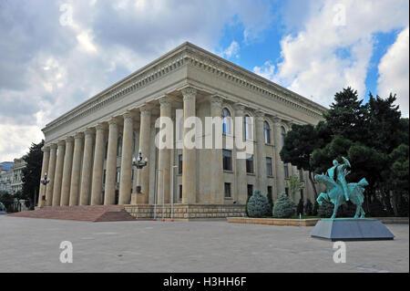Museum center of Baku city, Azerbaijan - Stock Photo