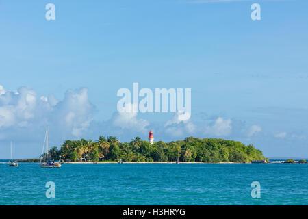 Îlet du Gosier - Islet of Le Gosier, Guadeloupe - Stock Photo