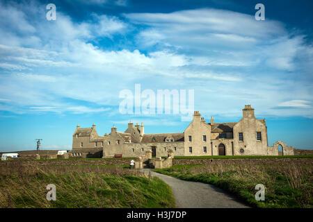 Skaill House on Mainland Orkney, Scotland, UK - Stock Photo