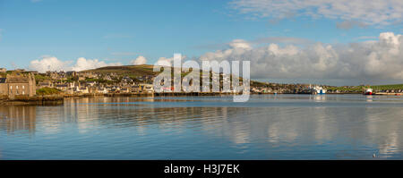 The Port of Stromness on Mainland Orkney, Scotland, UK - Stock Photo