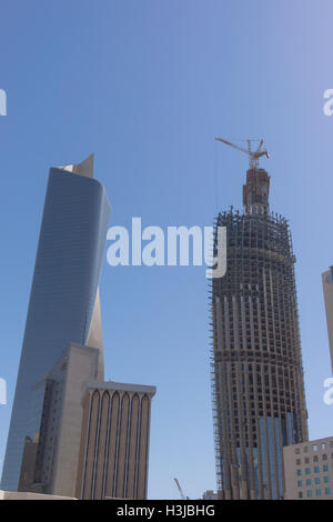 Al Hamra Tower - Stock Photo