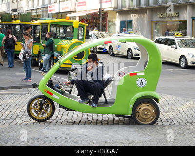 Tourist transport in the city center of Cologne, Germany - Stock Photo