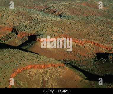 Southwestern side of the Hamersley Range, - Stock Photo