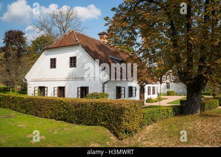 Tito's house of birth in Kumrovec, Croatia - Stock Photo