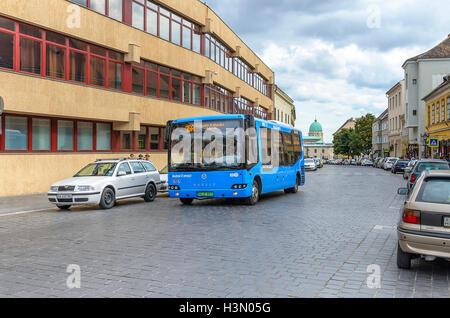 BUDAPEST, HUNGARY - SEPTEMBER 18: Public transport in Budapest, on September 18, 2016 in Budapest, Hungary. - Stock Photo