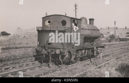 The Lancashire and Yorkshire Railway Barton Wright LYR Class 23 0-6-0ST tender engine introduced 1891.  Used for - Stock Photo