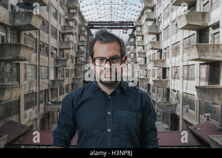 New York, Us. 11th Oct, 2016. HANDOUT - The undated handout photo shows the the artist Pedro Reyes in New York, - Stock Photo