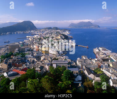 Allesund, More og Romsdal, Norway - Stock Photo
