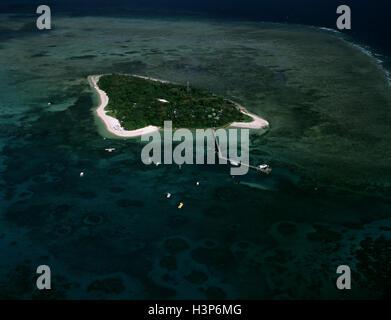 Green Island, - Stock Photo