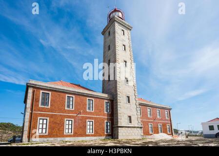 Sao Pedro de Moel lighthouse - Portugal - Stock Photo
