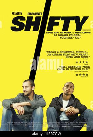 SHIFTY (2008)  DANIEL MAYS  RIZ AHMED  ERAN CREEVY (DIR)  MOVIESTORE COLLECTION LTD - Stock Photo