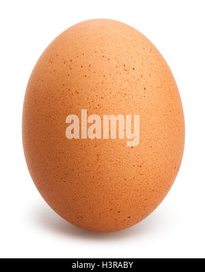eggs isolated on white - Stock Photo