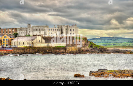 Dominican College in Portstewart - County Londonderry, Northern Ireland - Stock Photo