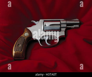 Revolvers, Smith & Wesson colt, 38 Specially, Still life, product photography, weapon, weapons, firearm, fist firearm, - Stock Photo