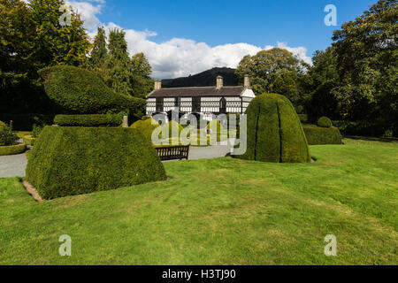Plas Newydd Llangollen home of Sarah Ponsonby & Eleanor Charlotte Butler also known as The Ladies of Llangollen - Stock Photo