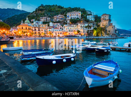 Cetara is a town and comune in the province of Salerno in the Campania region of south-western Italy. - Stock Photo