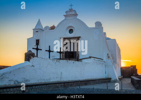 The church Chiesa del Soccorso in Forio on the island of Ischia, Italy. - Stock Photo