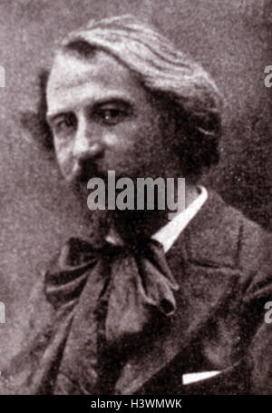 Portrait of Gustave Charpentier (1860-1956) a French composer. Dated 20th Century - Stock Photo
