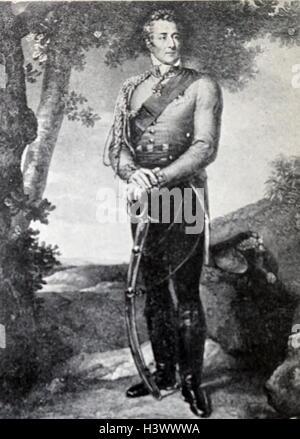 Portrait of Arthur Wellesley, 1st Duke of Wellington by François Gérard - Stock Photo