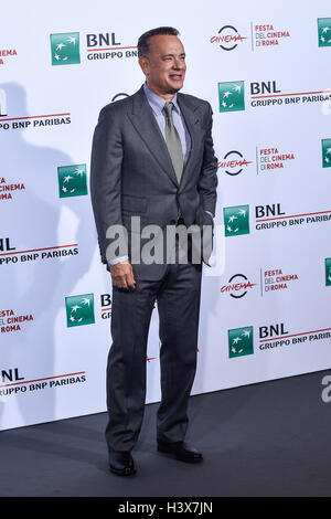 Rome, Italy. 13th October, 2016. Tom Hanks attends photocall during the 11th Rome Film Fest at the Auditorium Parco della Musica, Rome, Italy on 13 October 2016. Photo by Giuseppe Maffia / Alamy Live News