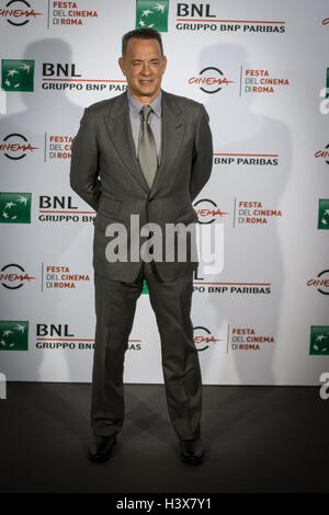 Rome, Italy. 13th October, 2016. Rome Film Festival 11 edition  the pictured Tom Hanks Credit:  Andrea Ronchini/Alamy Live News
