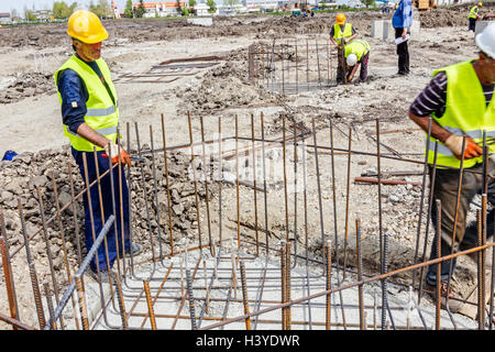 how to make a footing