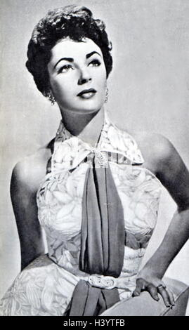 Photograph of wife Elizabeth Taylor (1932-2011) a British-American actress, businesswoman and humanitarian. Dated - Stock Photo