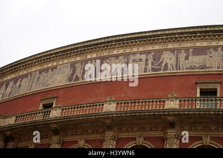 The Royal Albert Hall is a concert hall in South Kensington, London. It has a capacity of up to 5,272 seats. Since - Stock Photo