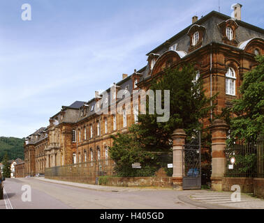 germany saarland mettlach company building villeroy boch input stock photo royalty free. Black Bedroom Furniture Sets. Home Design Ideas
