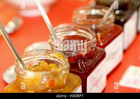 Jam in Jar - Stock Photo