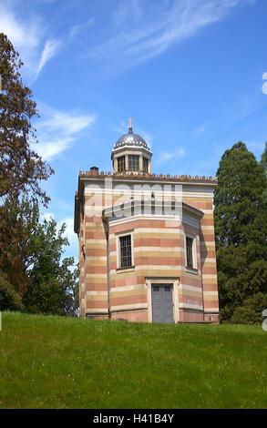 Germany, Baden-Wurttemberg, Baden-Baden, Stourdzakapelle, Europe, building, architecture, band, Stourdza band, tomb - Stock Photo