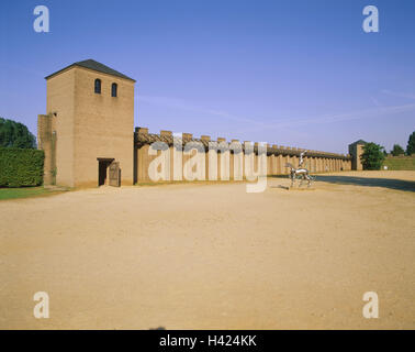 Germany, North Rhine-Westphalia, the Lower Rhine, Xanten, archaeological, park, building, Europe, town, Roman's - Stock Photo