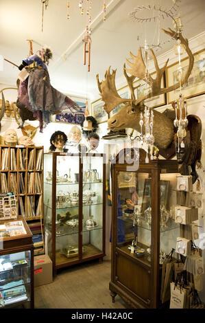 South, Africa, west cape, Stellenbosch, loading, Oom Samie Se angle, Africa, Dorpstraat, trade, sales, house, junk - Stock Photo