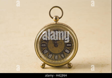 Alarm clock, nostalgically, - Stock Photo