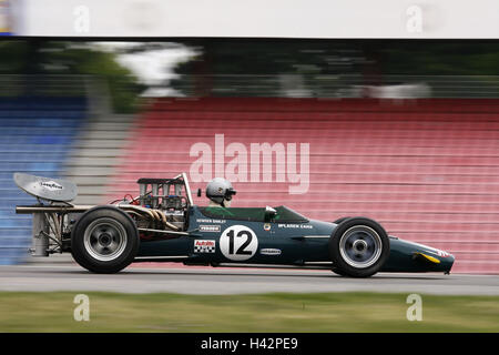 Old-timer races, squat home, no model release, no property release, - Stock Photo