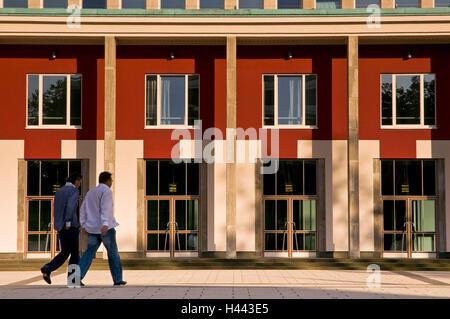 Main portal the Essener philharmonic concert hall, avenue Huyssen, food, North Rhine-Westphalia, Germany, - Stock Photo