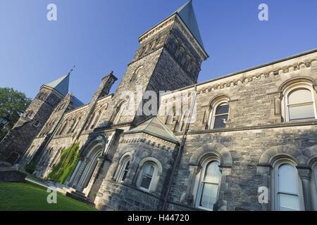 Canada, Ontario, Toronto, university, - Stock Photo
