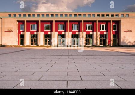 Main portal of the Essen Philharmonie, Huyssenallee, Essen, North Rhine-Westphalia, Germany, - Stock Photo