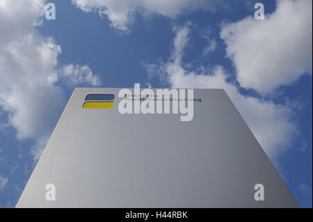 German pension scheme, sign, logo, - Stock Photo