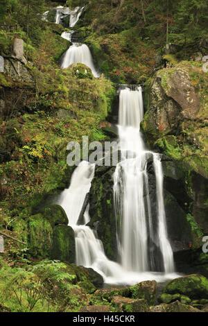 Germany, Black Forest, Triberg waterfalls, - Stock Photo