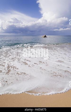 Italy, Sardinia, beach of Vignola Mare, - Stock Photo