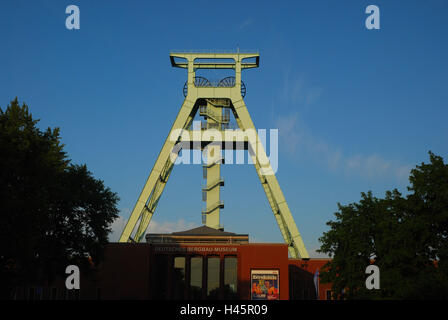 Germany, North Rhine-Westphalia, Bochum, German mining museum, industrial monument, - Stock Photo