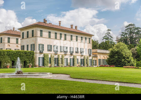 Villa Menafoglio Litta Panza, Varese, Italy | Villa Menafoglio Litta Panza, Varese, Italien - Stock Photo