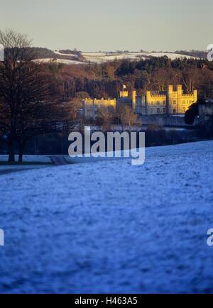 Leeds Castle. Kent. England. UK - Stock Photo