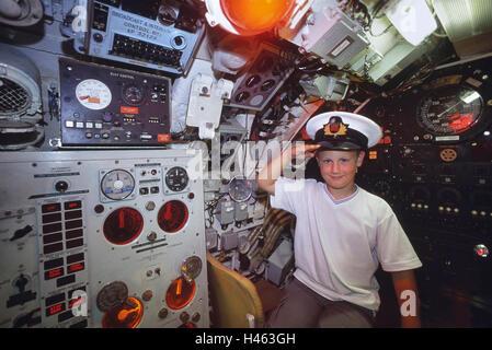 HM Submarine Ocelot. Chatham historic dockyard. Kent. England. UK - Stock Photo