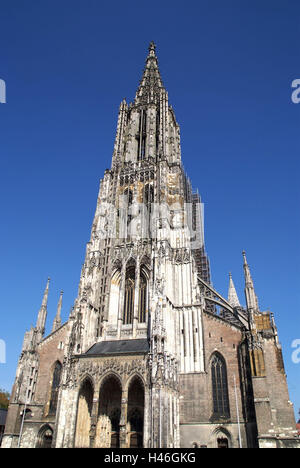 Germany, Baden-Württemberg, Ulm, Minster,